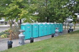 Photo of Portable Washroom Facilities in McGibbon Park